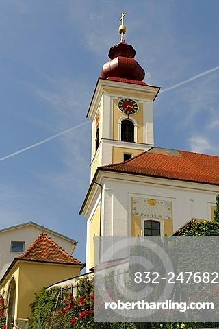 Parish Church St Stephan, Bad Wimsbach-Neytharting, Upper Austria, Europe