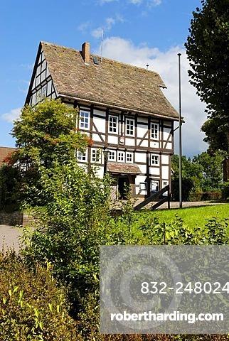Town Hall, Trendelburg, Hesse, Germany, Europe