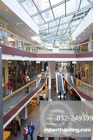 Neumarkt shopping centre, Dresden, Saxony, Germany