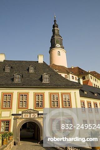Schloss Weesenstein castle, Dresden, Saxony, Germany
