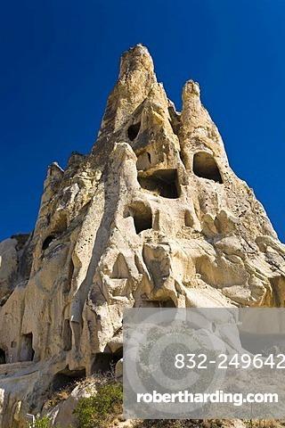 Goereme open air museum and UNESCO World Heritage Site, Cappadocia, Central Anatolia, Turkey, Asia