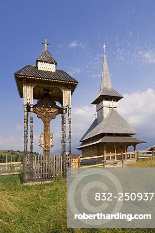 Orhtodox church, Transylvania, Romania