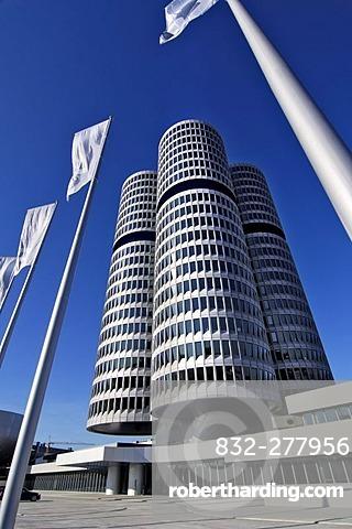 BMW headquarters, Munich, Bavaria, Germany