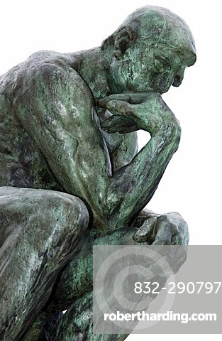 The Thinker (Le Penseur) statue of Auguste Rodin