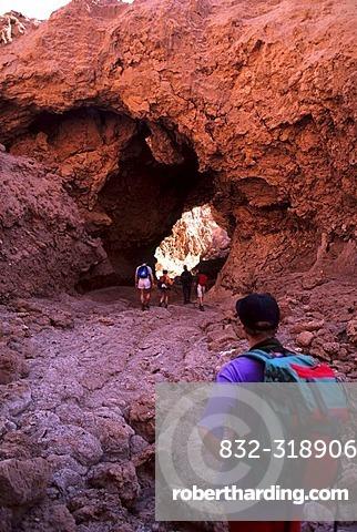 CHL, Chile, Atacama Desert: trekking tour in the Cordillera de la Sal.