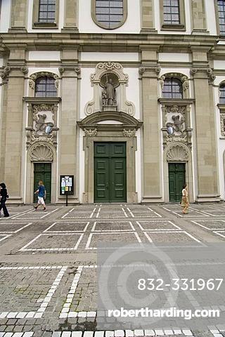 Jesuit Church, Lucerne, Switzerland