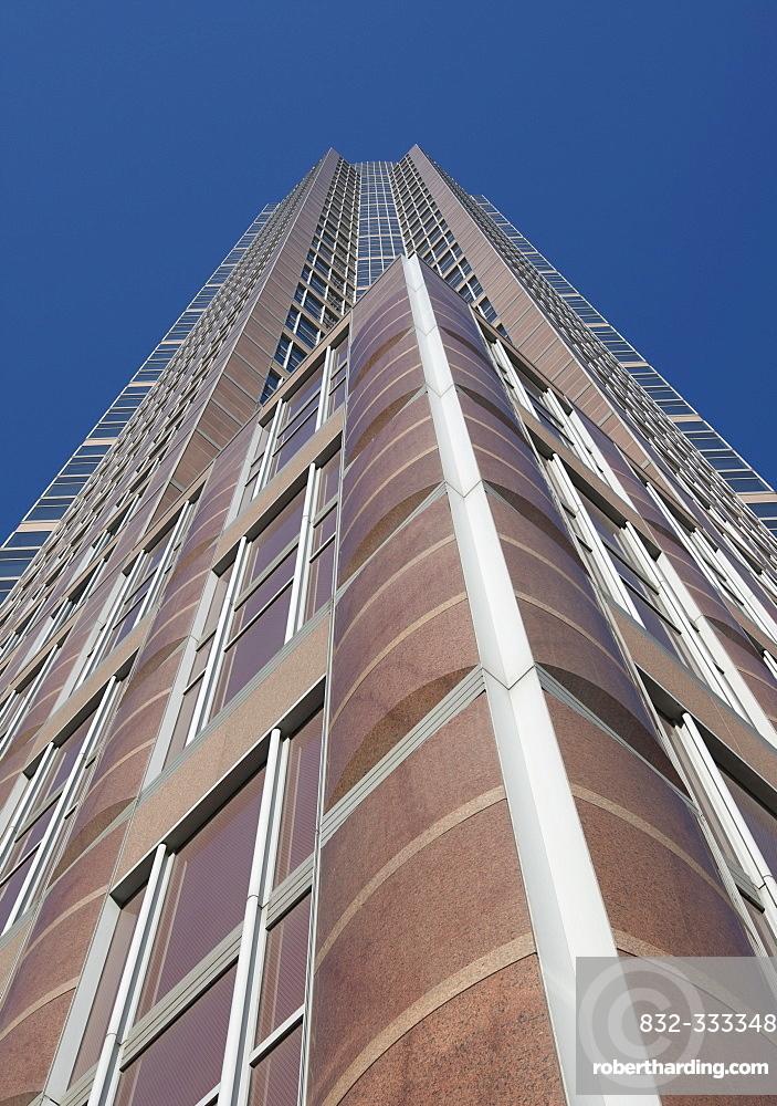 Messeturm Tower by Tishman Speyer, Frankfurt, Hesse, Germany, Europe