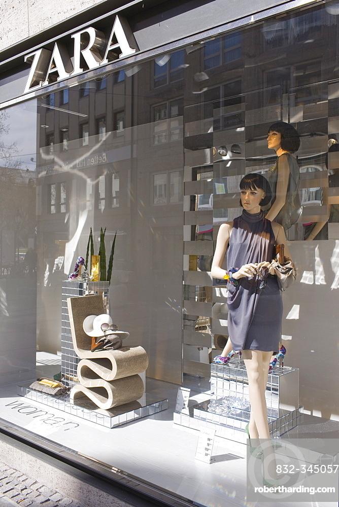 Zara boutique, Munich, Bavaria, Germany