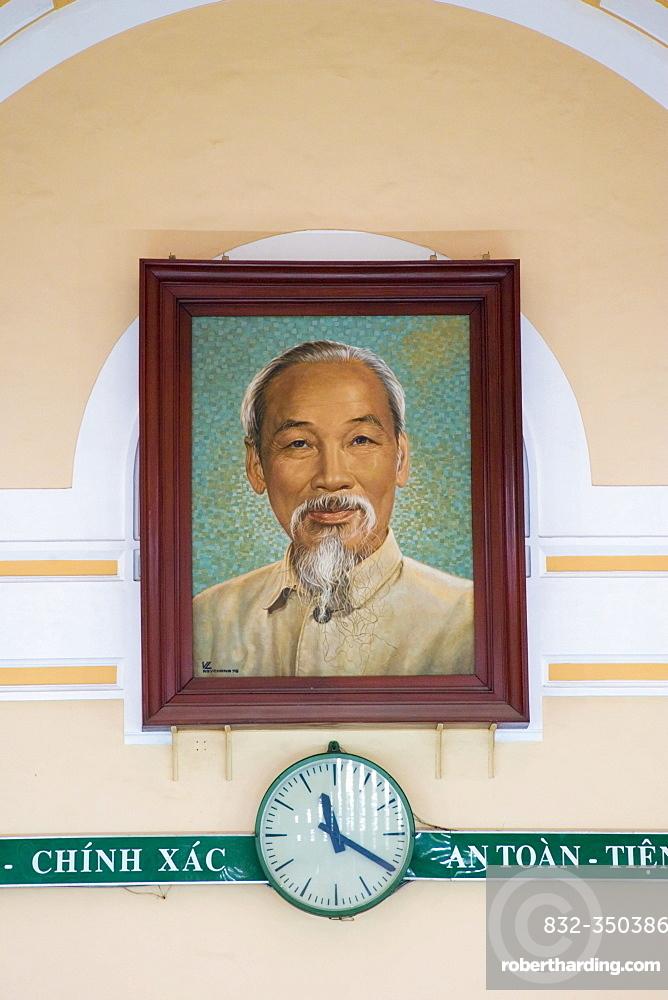 Portraet of Ho chi minh