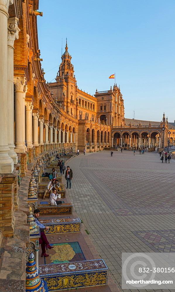 National Geographic Institute, Plaza de Espana, Seville, Spain, Europe