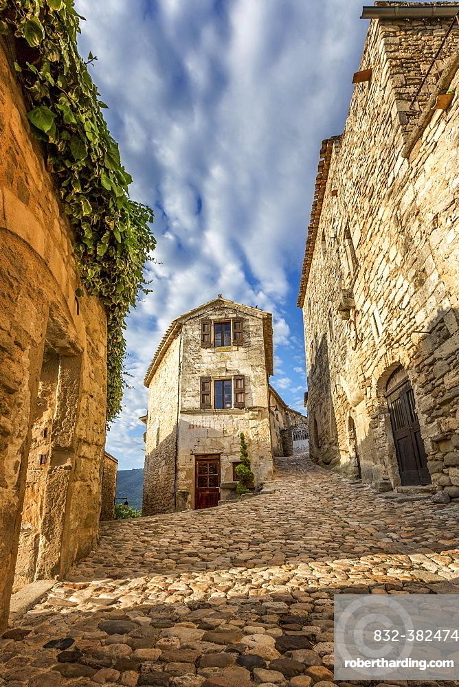 Lacoste Boulangerie, old bakery, Lacoste, Vaucluse, Provence-Alpes-Cote d'Azur, France, Europe