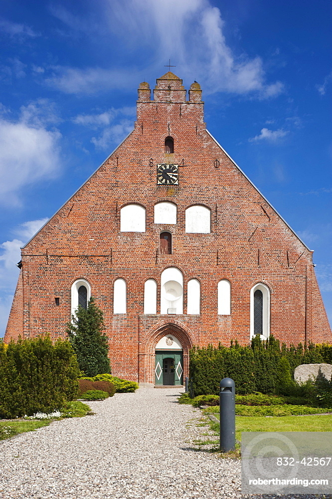 Petrikirche church, Landkirchen, Fehmarn island, Baltic Sea, Schleswig-Holstein, Germany, Europe