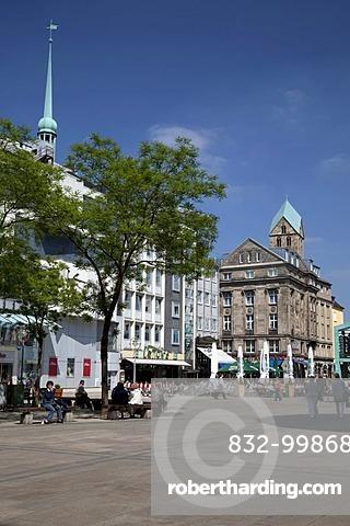 Alter Markt square, Dortmund, Ruhr area, North Rhine-Westphalia, Germany, Europe