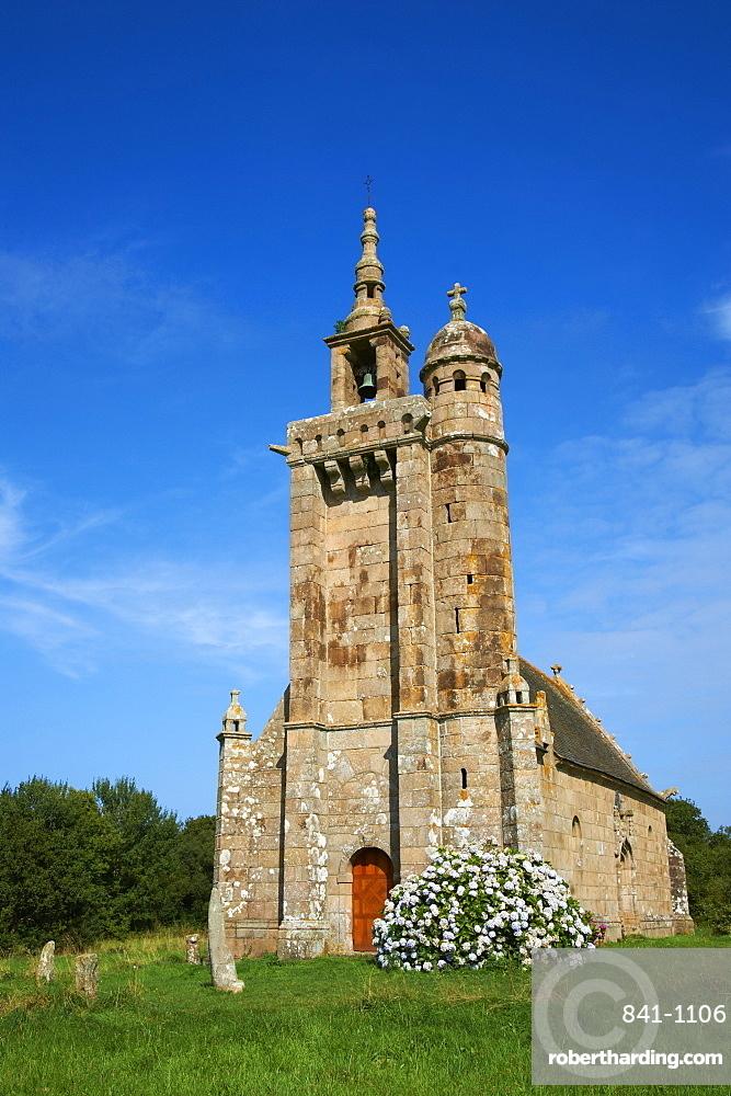 Saint Samson church, Pleumeur Bodou, Cotes d'Armor, Brittany, France, Europe