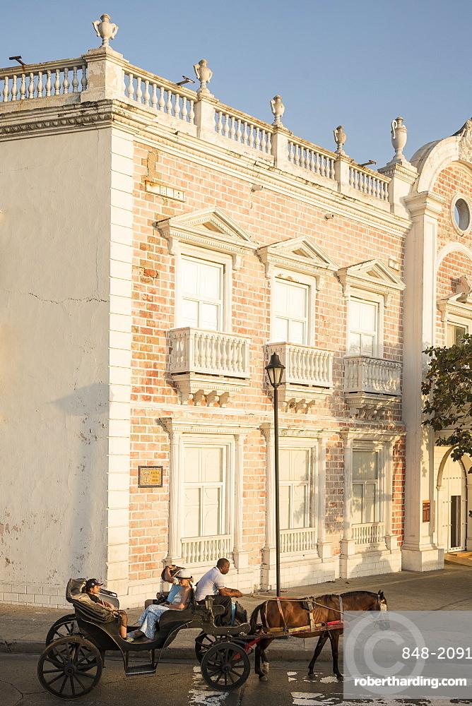 Street scene, Cartagena, Bolivar Department, Colombia, South America