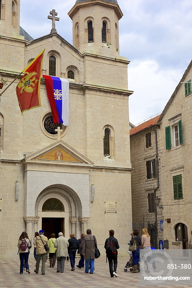 St. Lukes Church, Kotor, UNESCO World Heritage Site, Montenegro, Europe