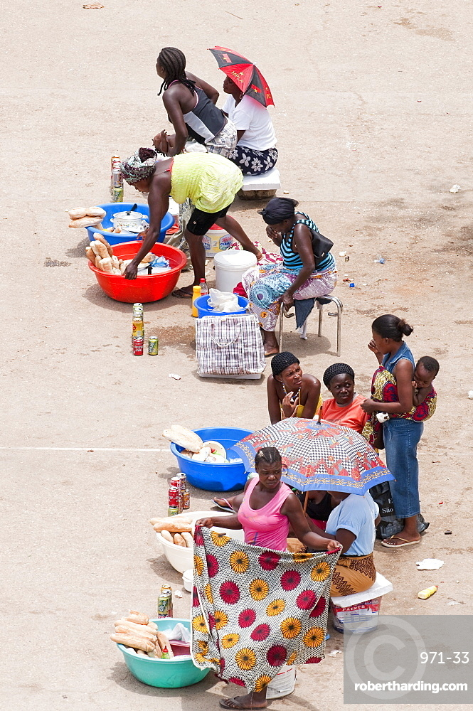Street scenes in Luanda, Angola, Southern Africa, Africa